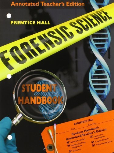 9780133627473: PRENTICE HALL FORENSIC SCIENCE TEACHER'S GUIDE (NATL)