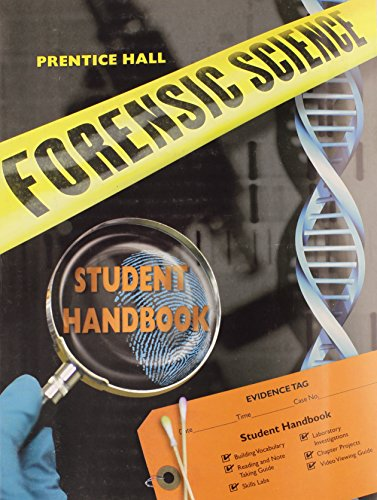 9780133627480: PRENTICE HALL FORENSIC SCIENCE STUDENT STUDY GUIDE & LAB MANUAL
