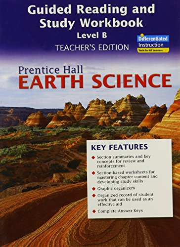 9780133627589: Earth Science Guided Reading and Study Workbook, Level B (Teacher's Edition) (NATL)