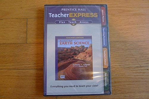9780133627596: 2009 Prentice Hall Earth Science Teacher Expree CD ROM