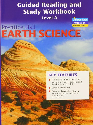 9780133627619: PRENTICE HALL EARTH SCIENCE GUIDED READING AND STUDY WORKBOOK, LEVEL A, SE