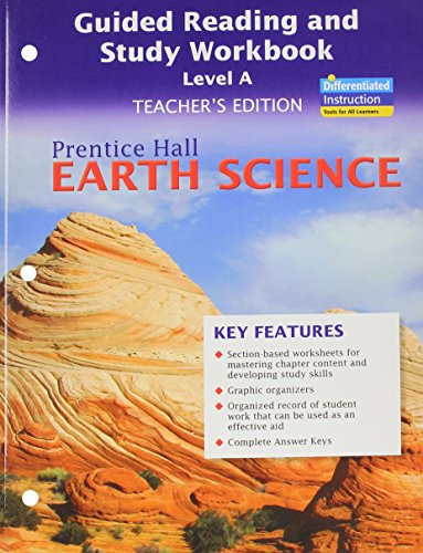 9780133627626: Prentice Hall Earth Science: Guided Reading and Study Workbook, Level A, Teacher's Edition