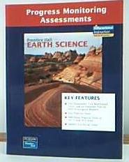 9780133627640: PRENTICE HALL EARTH SCIENCE PROGRESS MONITORING ASSESSMENTS