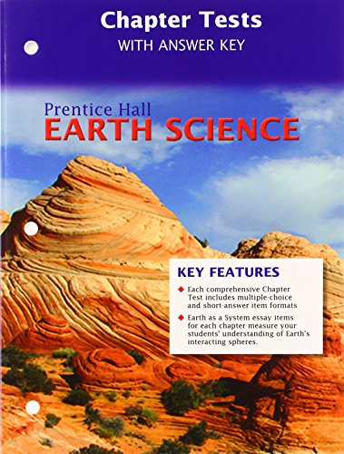 9780133627664: PRENTICE HALL EARTH SCIENCE CHAPTER TESTS AND ANSWER KEY