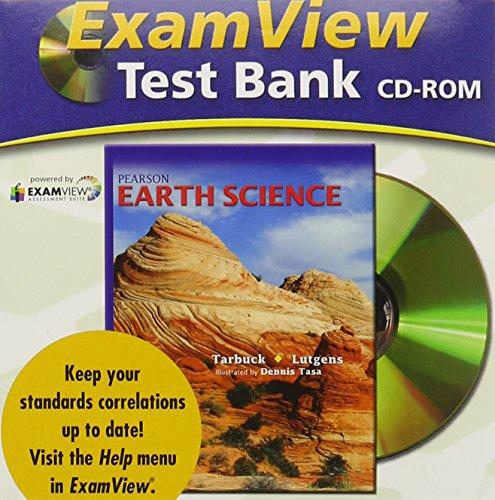 9780133627695: PRENTICE HALL EARTH SCIENCE EXAMVIEW CTB