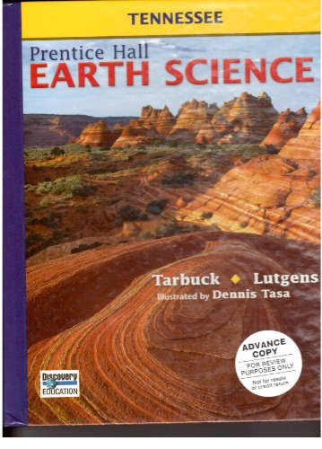9780133627800: Student Edition Tennessee Edition (Prentice Hall Earth Science)