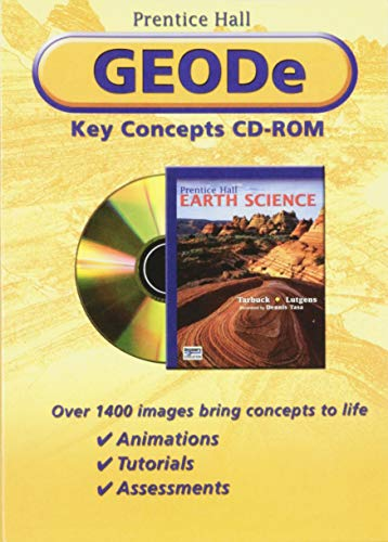 PRENTICE HALL EARTH SCIENCE GEODE CD-ROM: PRENTICE HALL