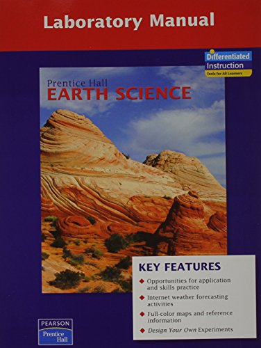 9780133627886: PRENTICE HALL EARTH SCIENCE LAB MANUAL SE