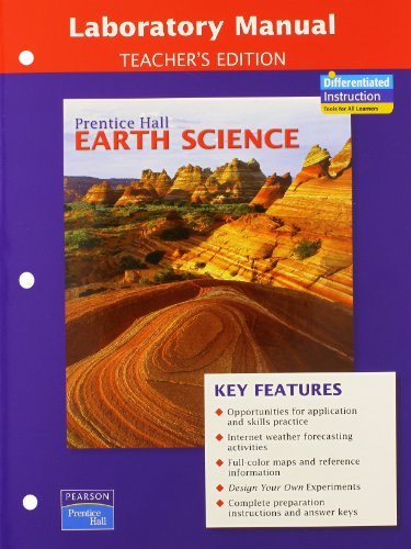 9780133627893: PRENTICE HALL EARTH SCIENCE LAB MANUAL TE (NATL)
