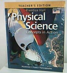 9780133628197: Teacher's Edition: Prentice Hall Physical Science: Concepts in Action