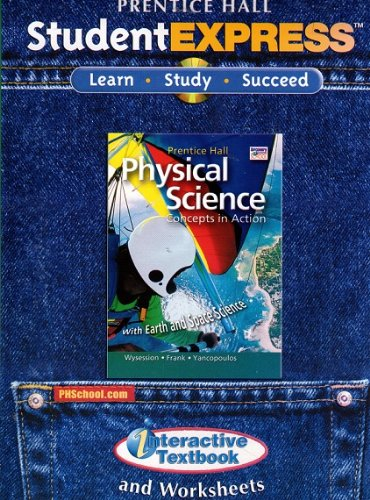 9780133628289: Physical Science: Concepts in Action, Student Express