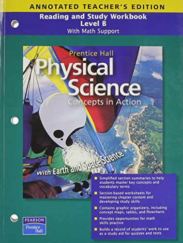 9780133628333 physical science concepts in action guided reading rh abebooks com Pearson Reading Street Grade 3 Pearson Reading Street