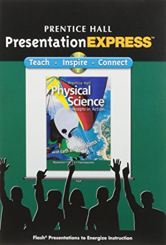9780133628364: Physical Science: Concepts in Action, Presentation Express