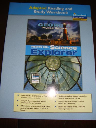 9780133628913: Prentice Hall Science Explorer - Georgia Physical Science (Adapted Reading and Study Workbook)