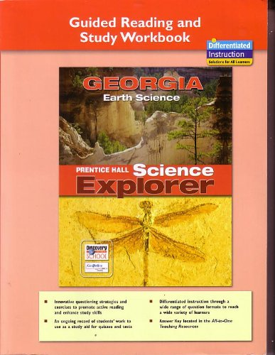 9780133628951: Prentice Hall Science Explorer Georgia Earth Science Guided Reading and Study Workbook