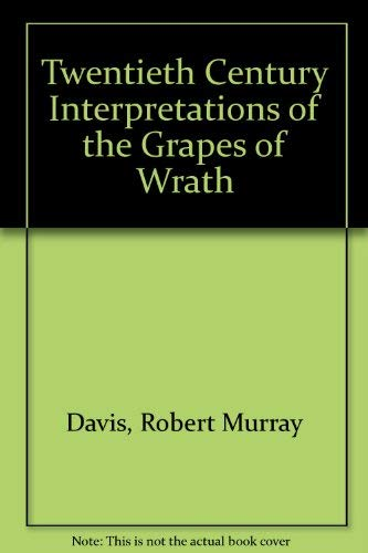 9780133633580: Twentieth Century Interpretations of the Grapes of Wrath