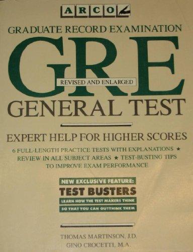 9780133635324: Graduate Record Examination 1987