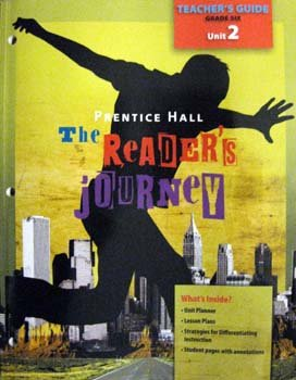 9780133636079: The Reader's Journey (Teachers Guide Grade Six, Unit 2)