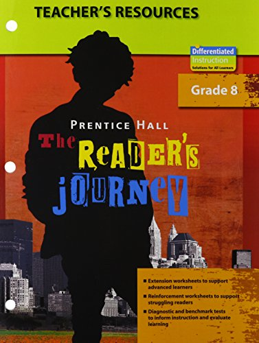 9780133636284: PRENTICE HALL: THE READER'S JOURNEY, TEACHER RESOURCE BOOK, GRADE 8