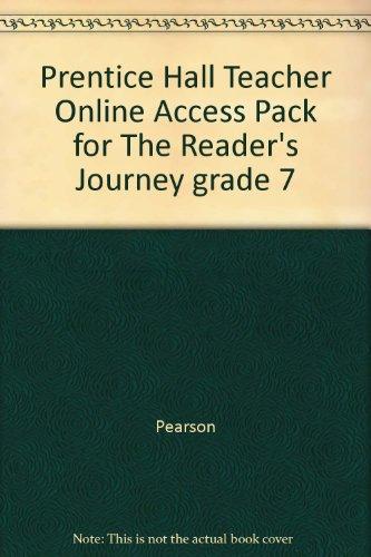 9780133637267: Prentice Hall Teacher Online Access Pack for The Reader's Journey grade 7