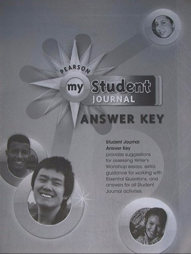 9780133638097: Pearson My Student Journal Answer Key, for My World Geography