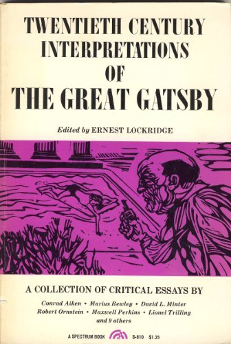 "9780133638127: Fitzgerald's ""Great Gatsby"" (20th Century Interpretations)"
