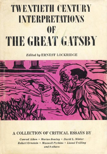 9780133638202: Twentieth Century Interpretations of the Great Gatsby: A Collection of Critical Essays