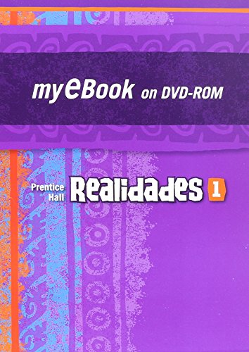 9780133638318: REALIDADES 2011 MY E-BOOK STUDENT EDITION LEVEL 1 ON DVD-ROM
