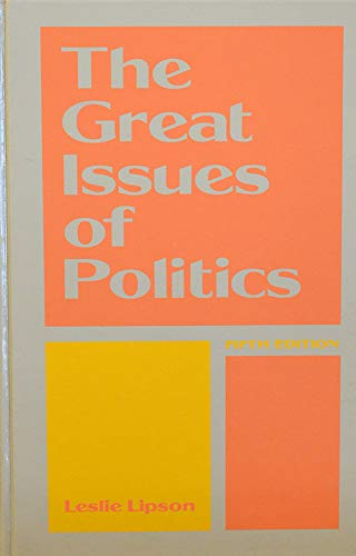 9780133638950: Great Issues of Politics