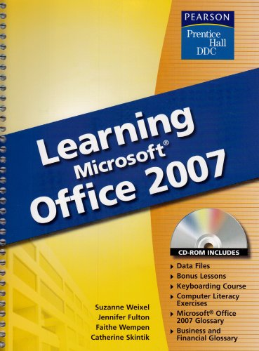 9780133639445: Learning Microsoft Office 2007 (Prentice Hall DDC)