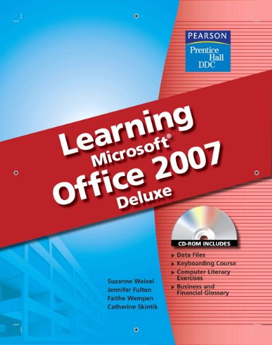 9780133639452: DDC Learning Microsoft Office 2007 Softcover Deluxe Edition
