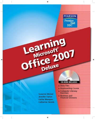 9780133639476: Learning Microsoft Office 2007, Deluxe Student Edition