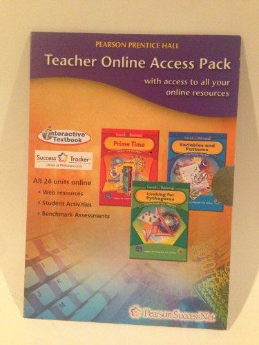 Teacher Online Access Pak Interactive Textbook for Connected Mathematics 2 All 24 Units: Glenda ...