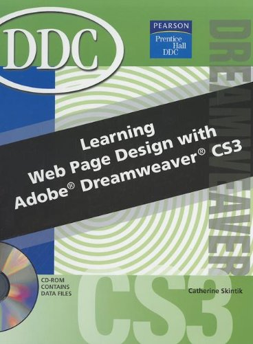 9780133640083: Learning Web Page Design with Dreamweaver CS3 [With CDROM]