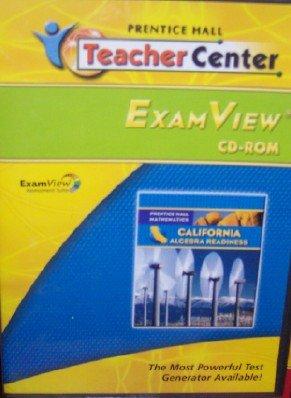9780133641127: Algebra Readiness ExamView Cd-Rom (California Mathematics)