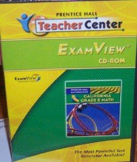9780133641134: ExamView Grade 6 (California Mathematics)