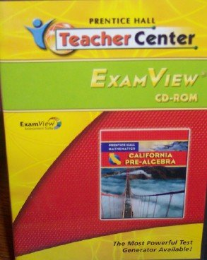 9780133641141: Pre-Algebra Examview Cd-Rom (California Mathematics)