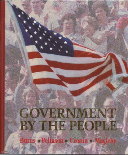 9780133641189: Government by the People: National Version
