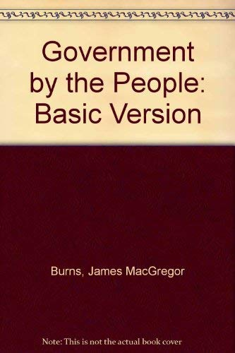 9780133641264: Government by the People: Basic Version