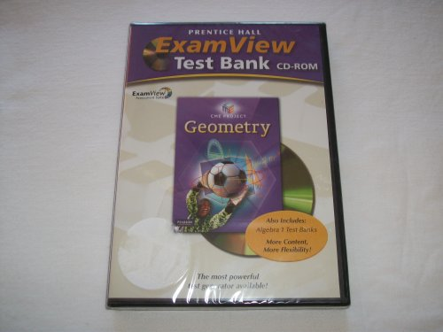 CENTER FOR MATHEMATICS EDUCATION GEOMETRY EXAMVIEW COMPUTER