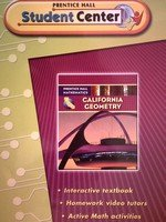 California Geometry: Student Center (Prentice Hall Mathematics)