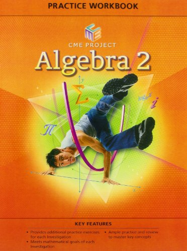 9780133644326: CENTER FOR MATHEMATICS EDUCATION PROJECT ALGEBRA 2 PRACTICE WORKBOOK