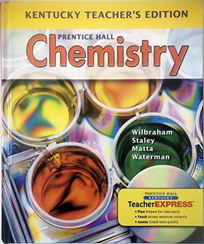 9780133646825: Prentice Hall Chemistry Kentucky Teacher's Edition