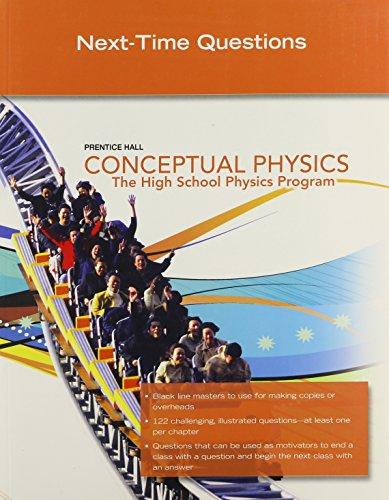 9780133647310: Conceptual Physics C2009 Next Time Questions