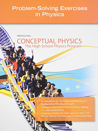 9780133647327: CONCEPTUAL PHYSICS C2009 PROBLEM-SOLVING EXERCISES IN PHYSICS SE