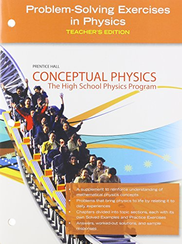 9780133647334: Conceptual Physics, Problem-Solving Excercises in Physics, Teacher's Edition