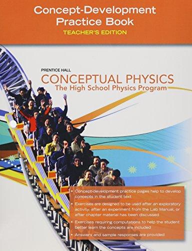 9780133647518: Conceptual Physics, Concept Development Practice Workbook, Teacher's Edition