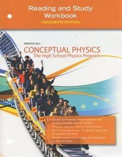 9780133647570: Prentice Hall Conceptual Physics: Reading and Study Workbook, Teacher's Edition