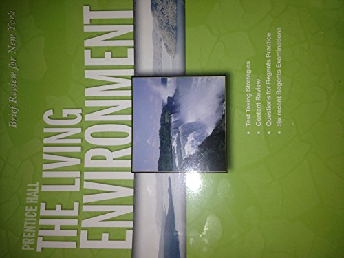9780133647631: Prentice Hall Brief Review For New York The Living Environment, 2007
