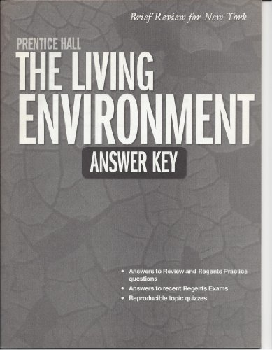 9780133647648: Prentice Hall The Living Environment Answer Key